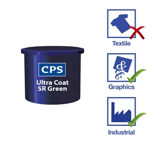 Ultra Coat SR Green - Screen Printing Filler